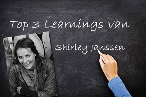 Shirley Janssen blog